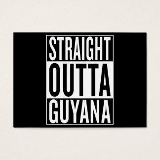 straight outta Guyana Business Card