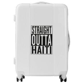straight outta Haiti Luggage