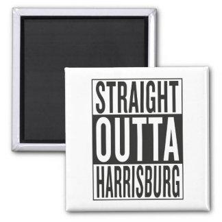 straight outta Harrisburg Magnet