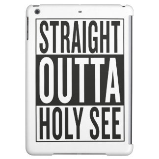 straight outta Holy See iPad Air Case