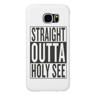 straight outta Holy See Samsung Galaxy S6 Case