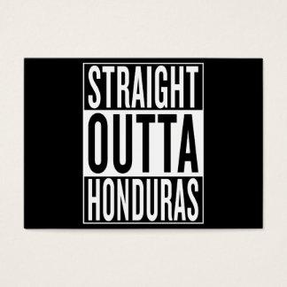straight outta Honduras Business Card