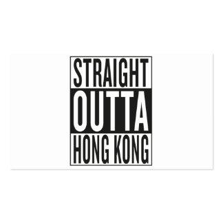 straight outta Hong Kong Business Card