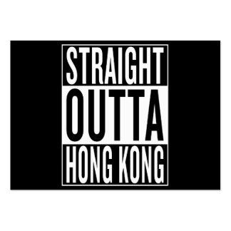 straight outta Hong Kong Large Business Card