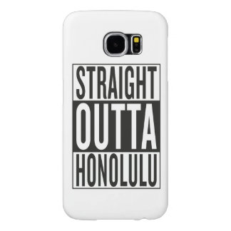 straight outta Honolulu Samsung Galaxy S6 Case