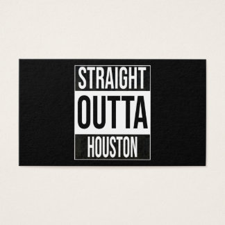 Straight Outta  Houston, #Houston Business Card