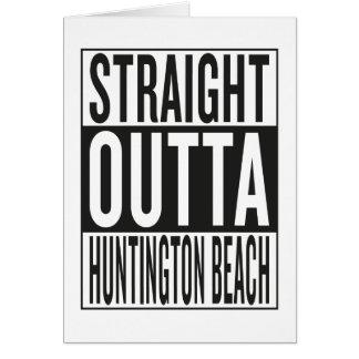 straight outta Huntington Beach Card