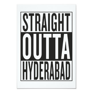 straight outta Hyderabad Card