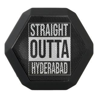 Straight Outta  Hyderabad, #Hyderabad Black Bluetooth Speaker