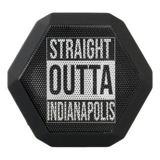 Straight Outta  Indianapolis, #Indianapolis Black Bluetooth Speaker