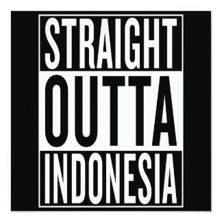 straight outta Indonesia Card