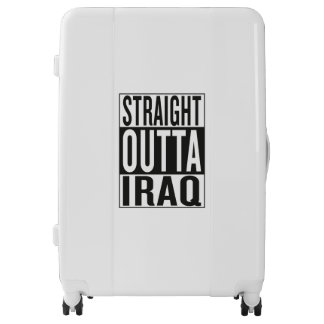 straight outta Iraq Luggage
