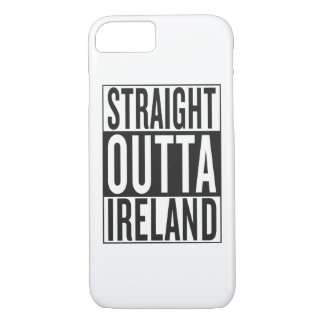 straight outta Ireland iPhone 8/7 Case