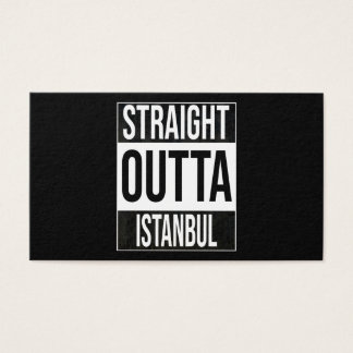 Straight Outta  Istanbul, #Istanbul Business Card