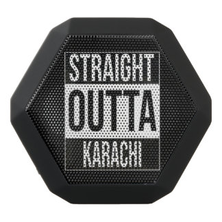 Straight Outta  Karachi, #Karachi Black Bluetooth Speaker