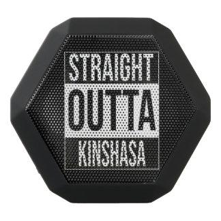Straight Outta  Kinshasa, #Kinshasa Black Bluetooth Speaker