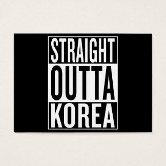 straight outta Korea Business Card