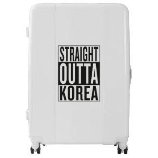 straight outta Korea Luggage