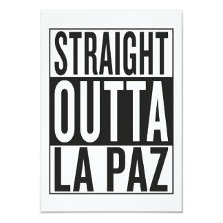 straight outta La Paz Card