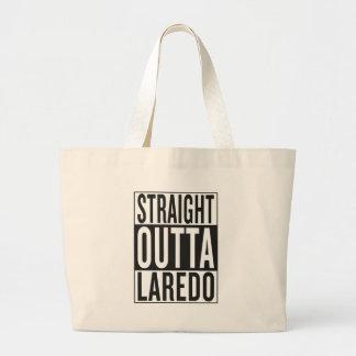 straight outta Laredo Large Tote Bag