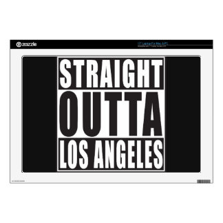 "Straight Outta Los Angeles 17"" Laptop Decals"