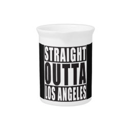 Straight Outta Los Angeles Pitcher