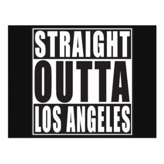Straight Outta Los Angeles Postcard