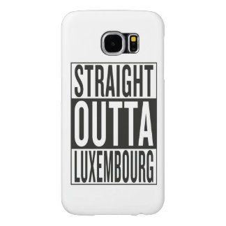 straight outta Luxembourg Samsung Galaxy S6 Case