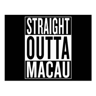 straight outta Macau Postcard