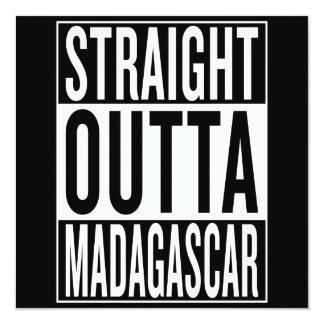 straight outta Madagascar Card