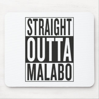straight outta Malabo Mouse Pad