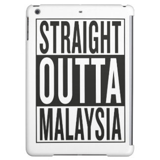 straight outta Malaysia iPad Air Cases