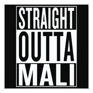 straight outta Mali Card