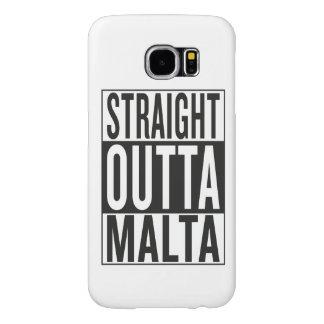 straight outta Malta Samsung Galaxy S6 Case