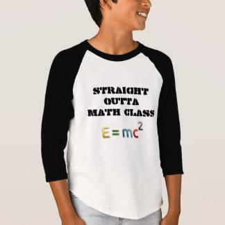 STRAIGHT OUTTA MATH CLASS T-SHIRT