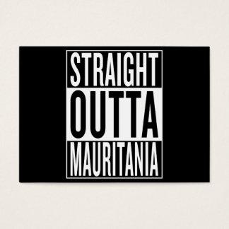 straight outta Mauritania Business Card