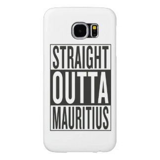 straight outta Mauritius Samsung Galaxy S6 Case