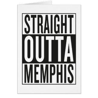 straight outta Memphis Card
