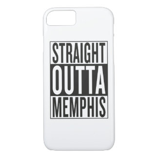 straight outta Memphis iPhone 7 Case