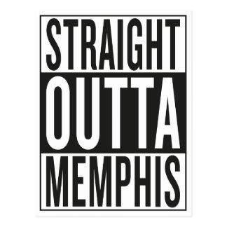 straight outta Memphis Postcard