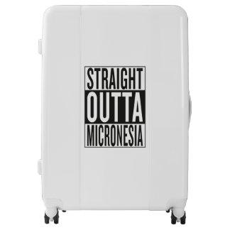 straight outta Micronesia Luggage
