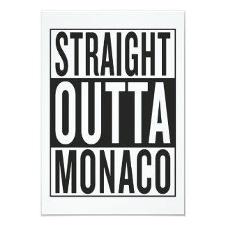 straight outta Monaco Card