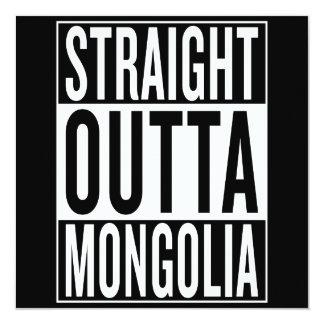 straight outta Mongolia Card