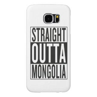 straight outta Mongolia Samsung Galaxy S6 Case