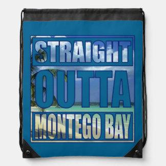 Straight Outta Montego Bay Drawstring Bag