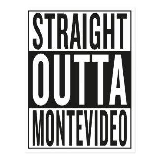 straight outta Montevideo Postcard