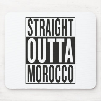 straight outta Morocco Mouse Pad