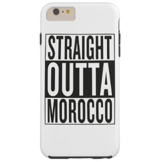 straight outta Morocco Tough iPhone 6 Plus Case