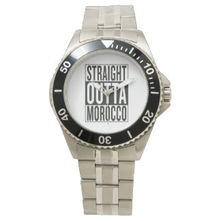 straight outta Morocco Wristwatches