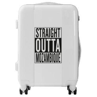 straight outta Mozambique Luggage